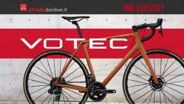 La nuova bicicletta da strada Votec VRC EVO 2021