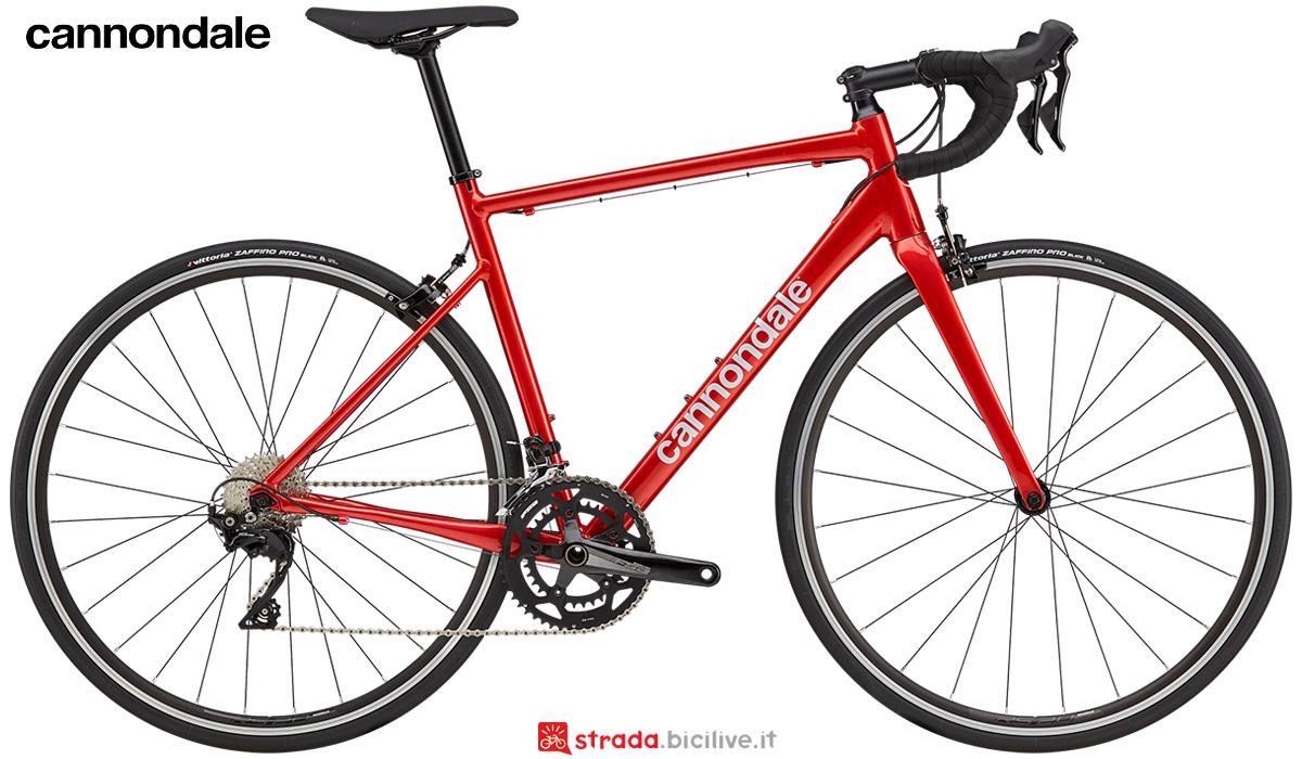 La nuova bici da strada Cannondale Caad Optimo 1 2021