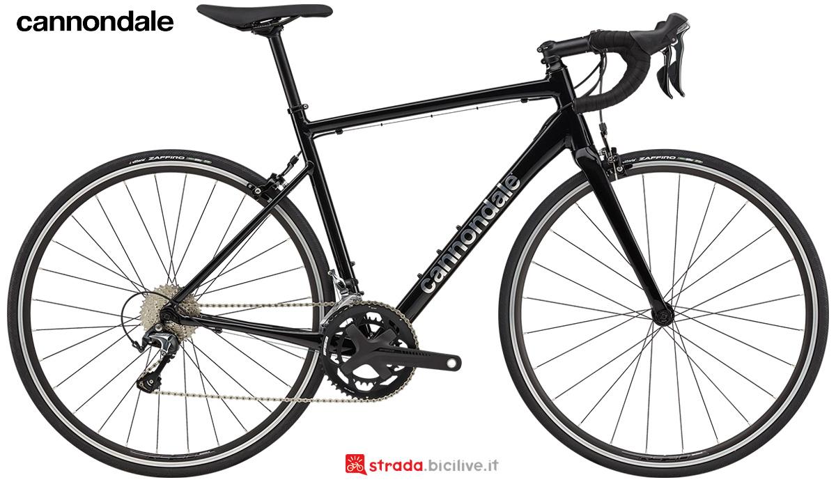La nuova bici da strada Cannondale Caad Optimo 2 2021