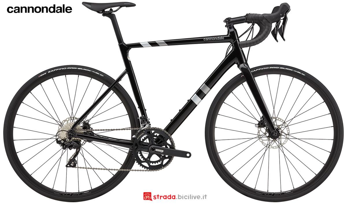 La nuova bici da strada Cannondale Caad 13 Disc 105 2021