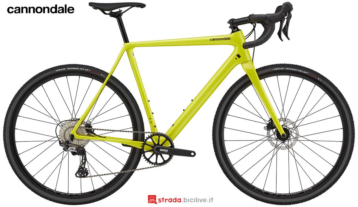 La nuova bici da gravel Cannondale Superx 2 2021