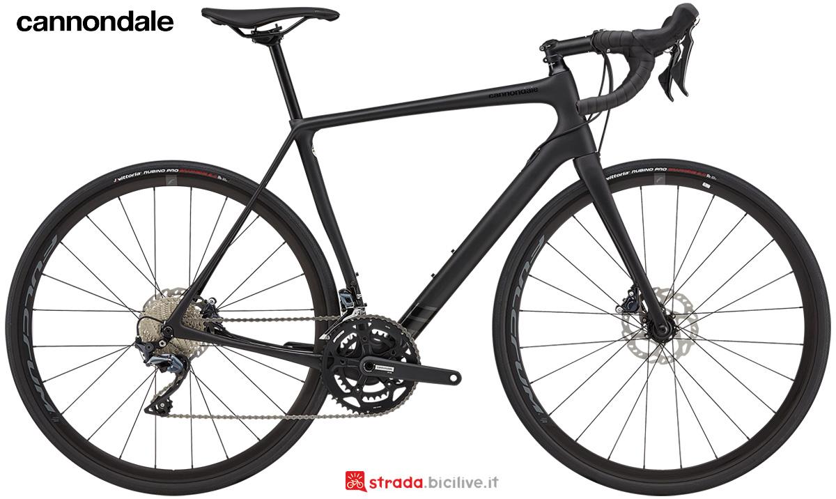 La nuova bici da corsa Cannondale Synapse Carbon Ultegra 2021