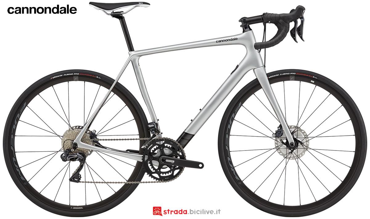 La nuova bici da corsa Cannondale Synapse Carbon Ultegra Di2 2021