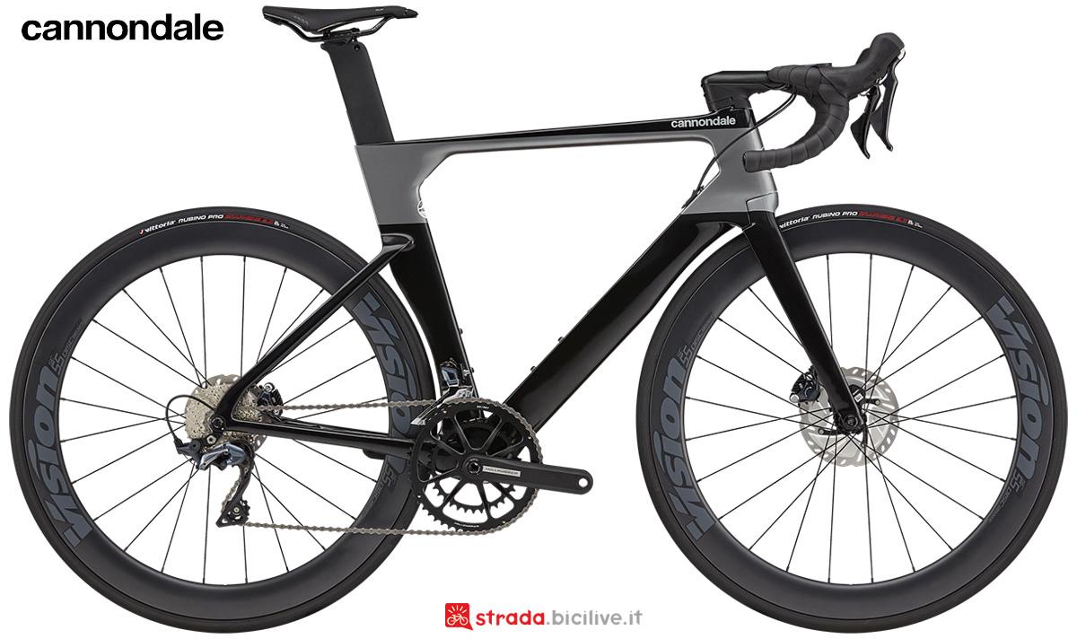 La nuova bici da strada Cannondale Systemsix Carbon Ultegra 2021