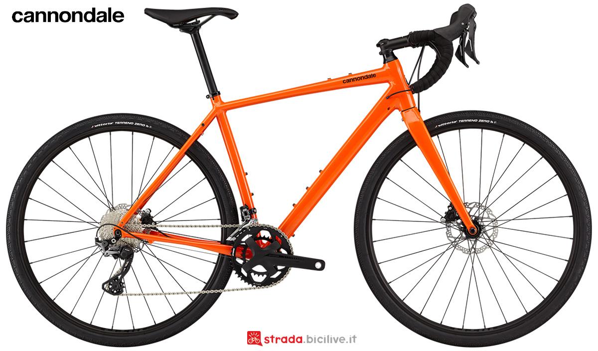 La nuova bici da strada Cannondale Topstone 1 2021