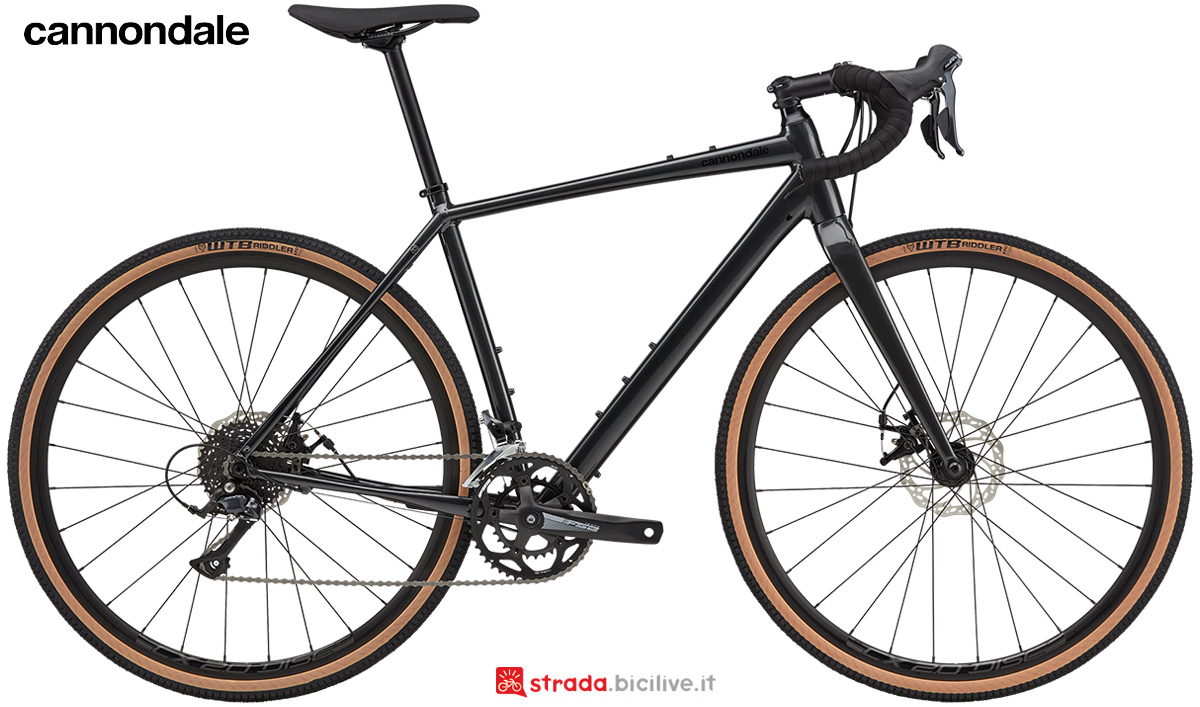 La nuova bici da strada Cannondale Topstone 3 2021