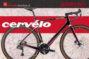 Cervélo Aspero 5 2021: bicicletta gravel aerodinamica