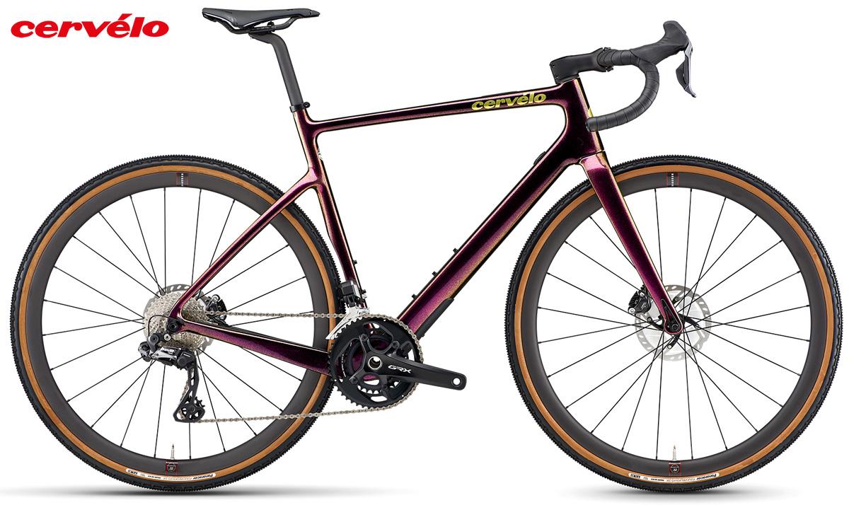 Bicicletta gravel Cervélo Aspero 5 2021 con cambio Shimano GRX