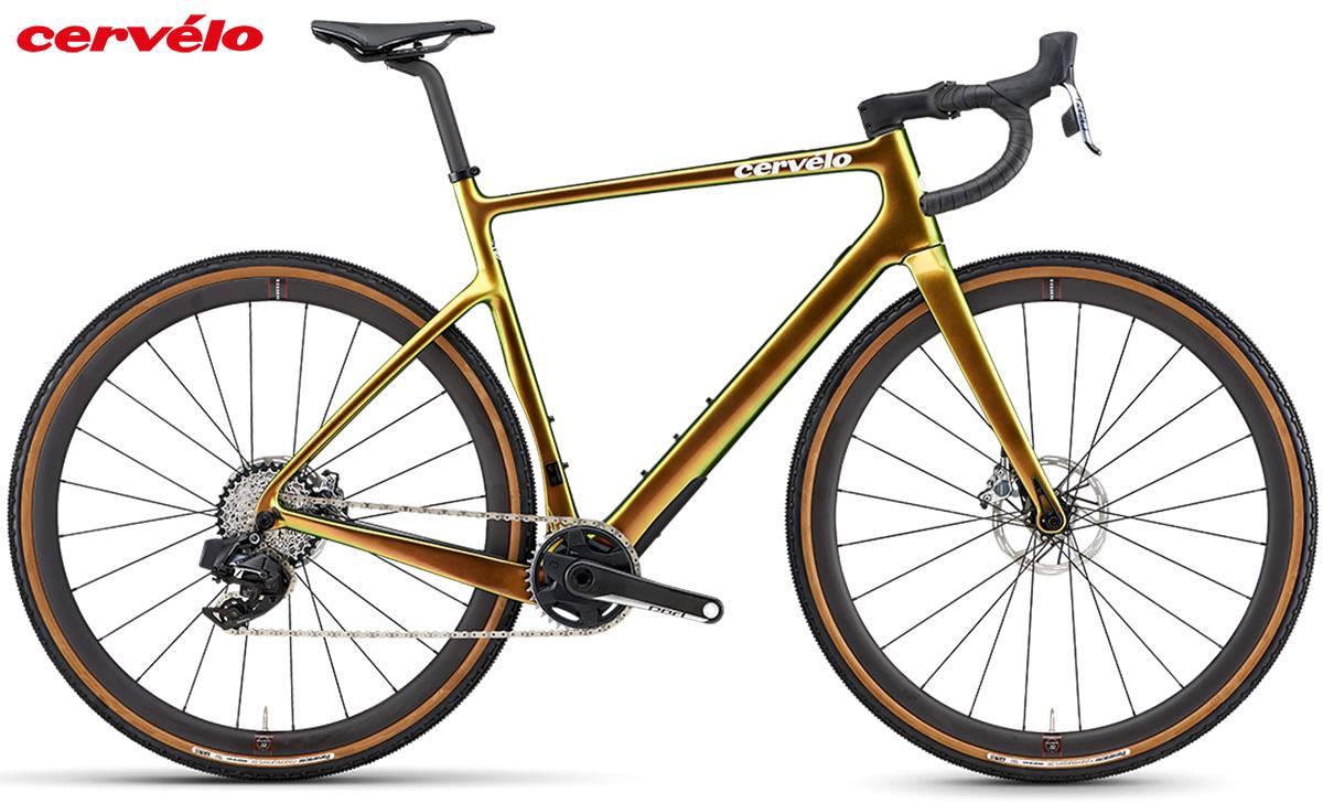 Bici gravel Cervélo Aspero 5 2021 con gruppo SRAM Red