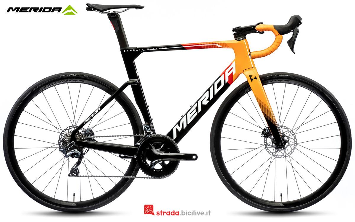 La nuova bici da strada Merida Reacto 5000 CF3 2021