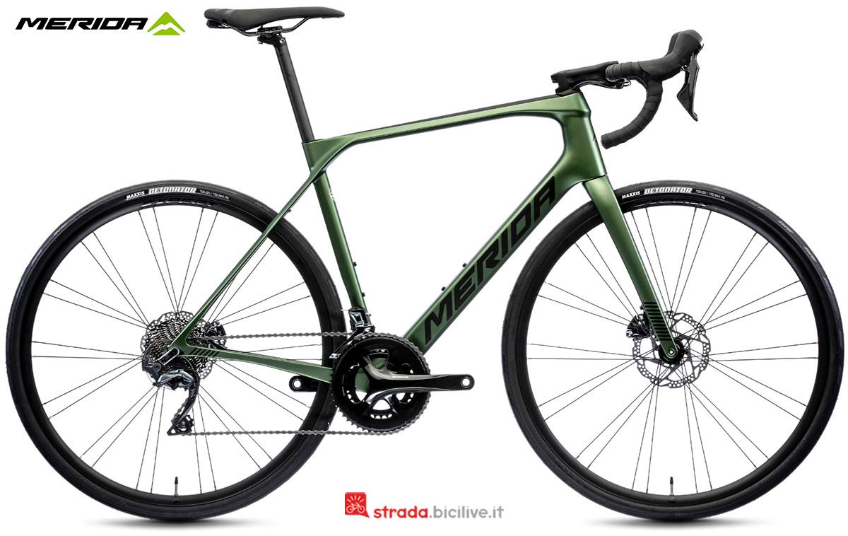 La nuova bici da corsa Merida Scultura Endurance 5000 CF3 2021