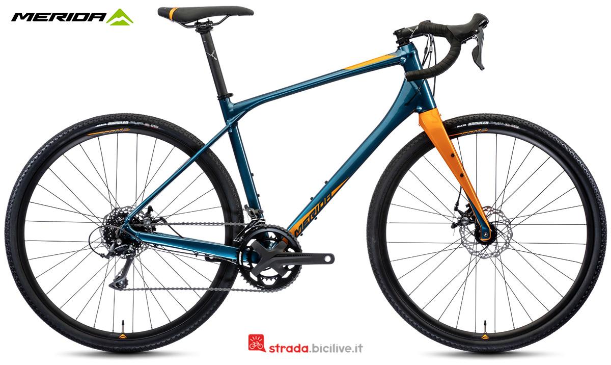 La nuova bici da strada Merida Silex 200 2021