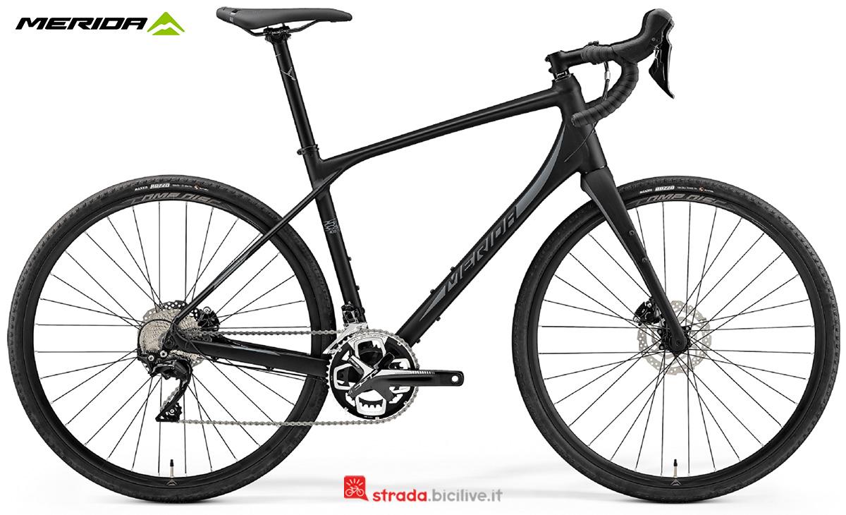 La nuova bici da strada Merida Silex 400 2021