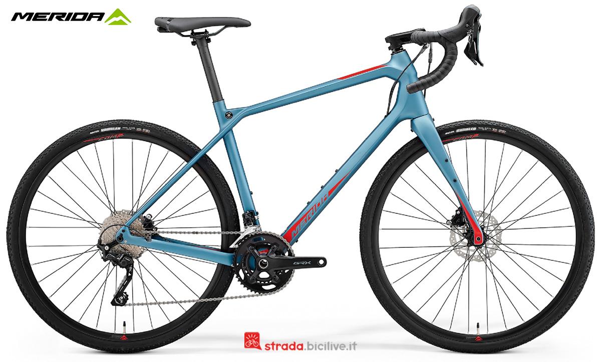 La nuova bici da corsa Merida Silex 4000 CF2 2021