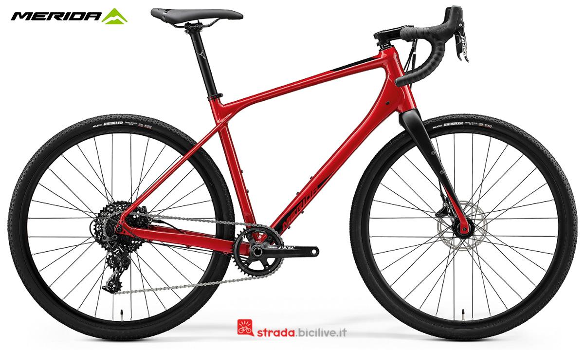 La nuova bici da corsa Merida Silex 600 2021