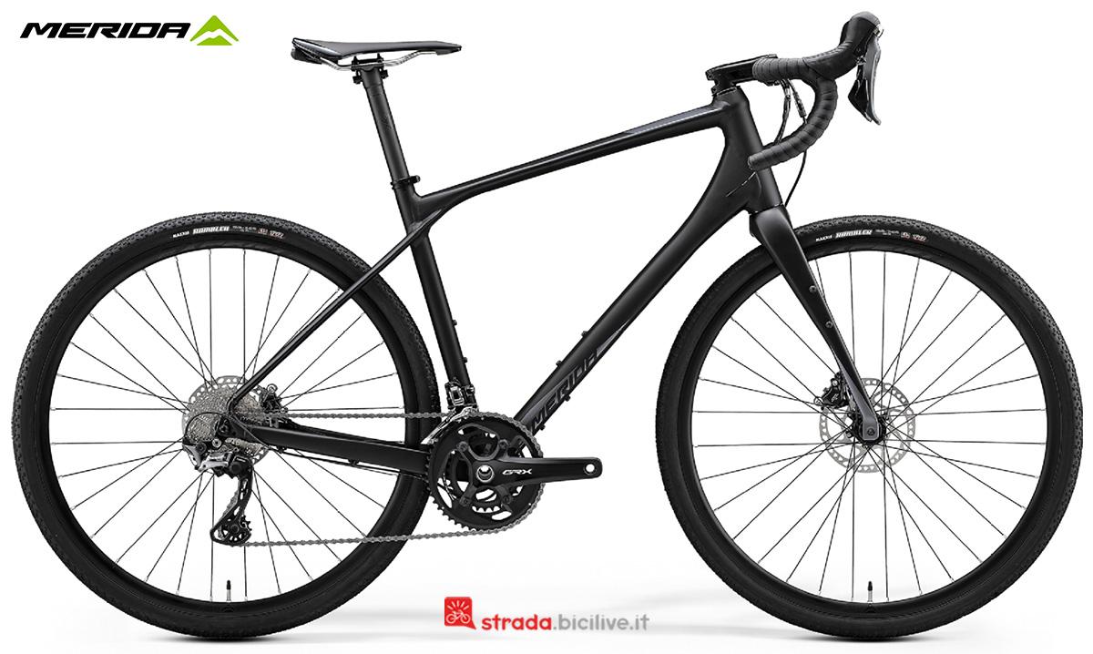 La nuova bici da strada Merida Silex 700 2021