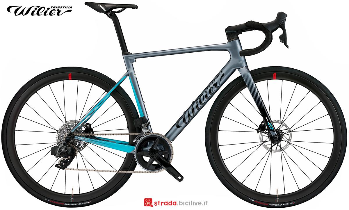 La nuova bici da corsa Wilier Triestina 0 SL 2021