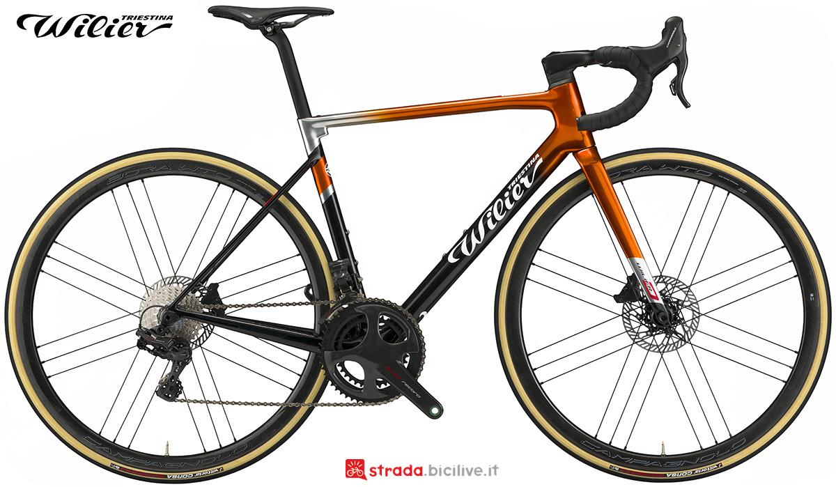 La nuova bici da strada Wilier Triestina 0 SLR 2021