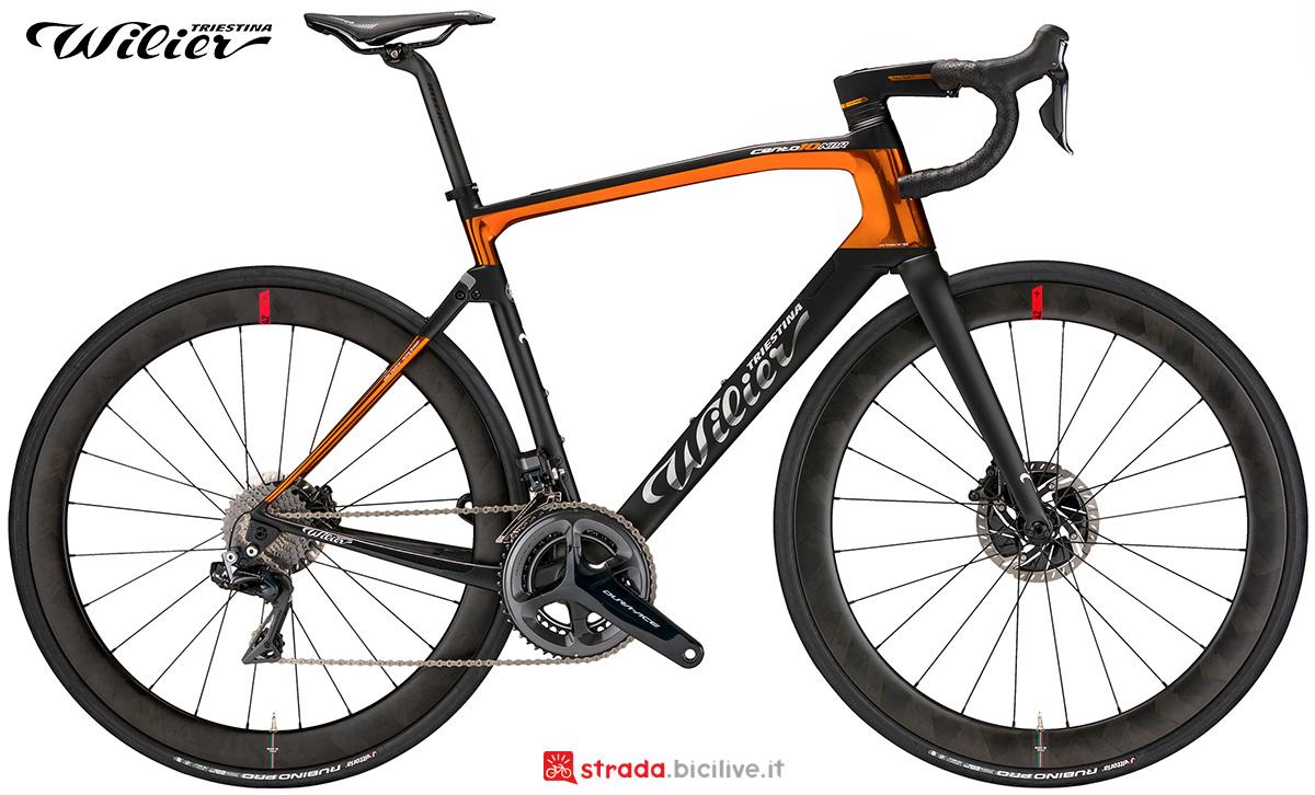 La nuova bici da corsa Wilier Triestina 110 NDR 2021