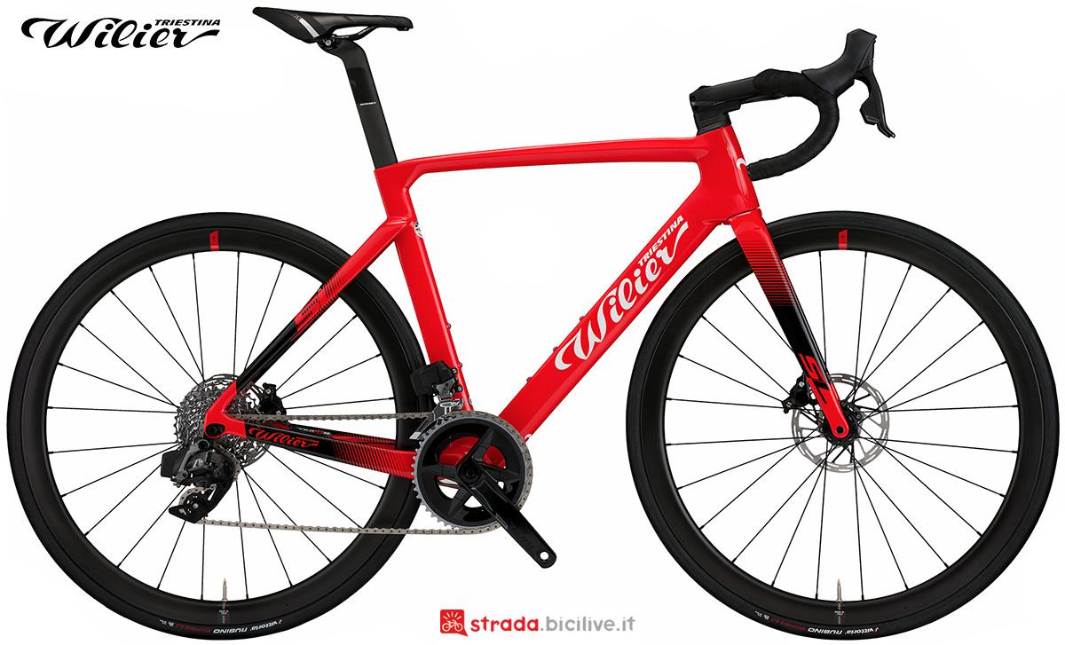 La nuova bici da strada Wilier Triestina Cento10 SL 2021