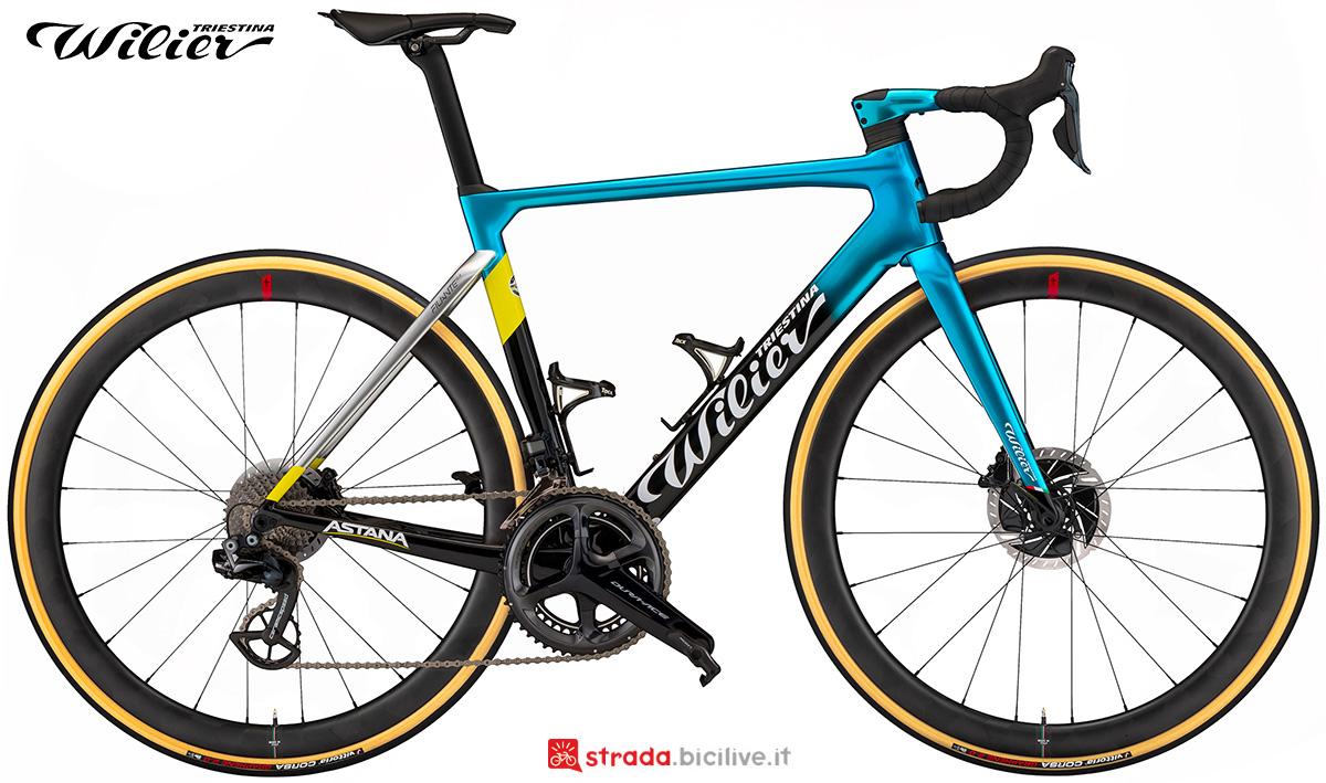 La nuova bici da strada Wilier Triestina Filante SLR 2021