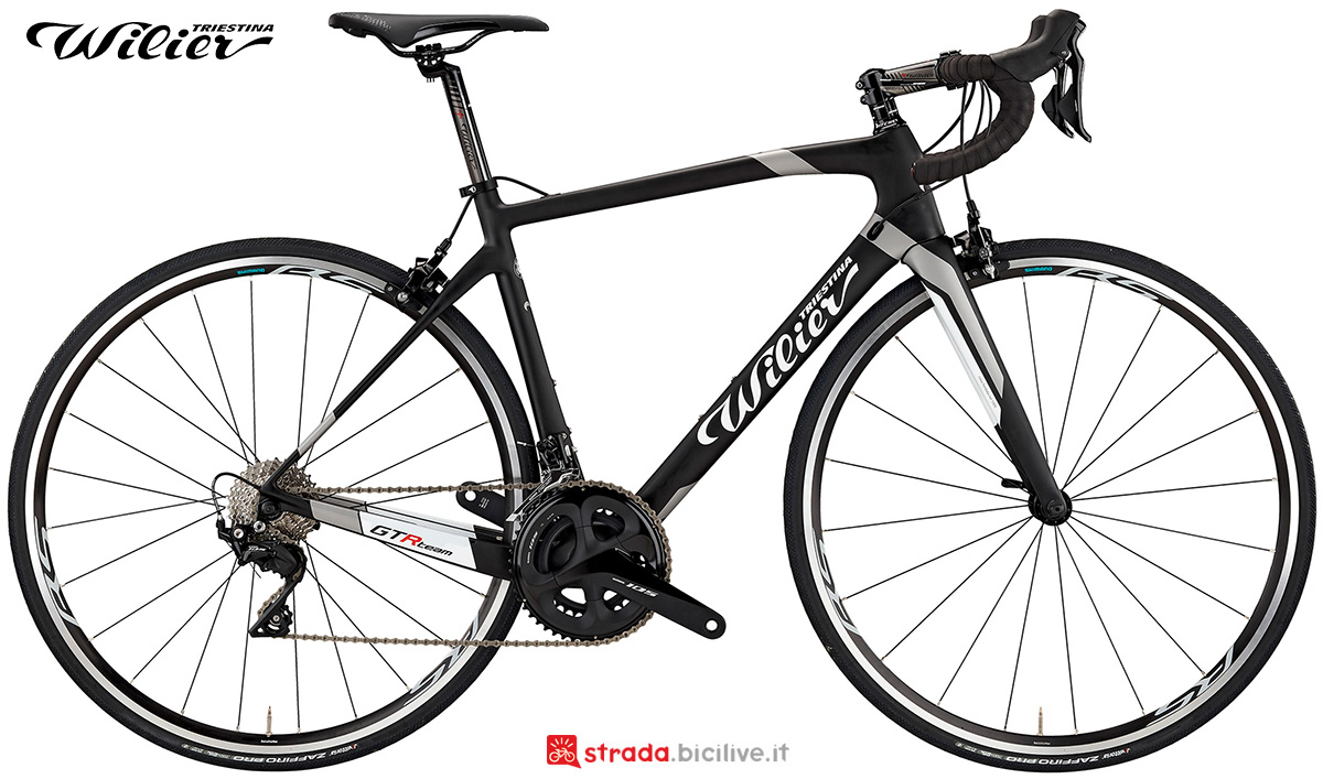 La nuova bici da strada Wilier Triestina GTR Team 2021