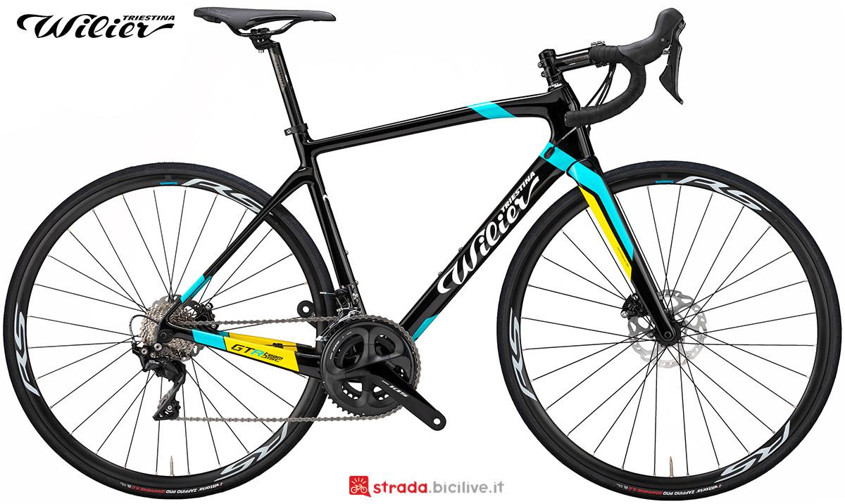 La nuova bici da strada Wilier Triestina GTR Team Disc 2021