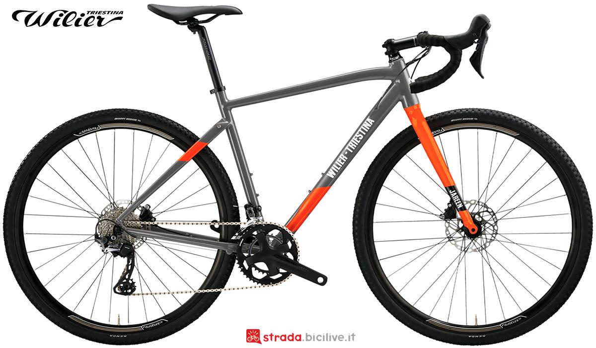 La nuova bici da gravel Wilier Triestina Jareen 2021