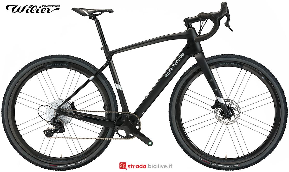 La nuova bici da gravel Wilier Triestina Jena 2021