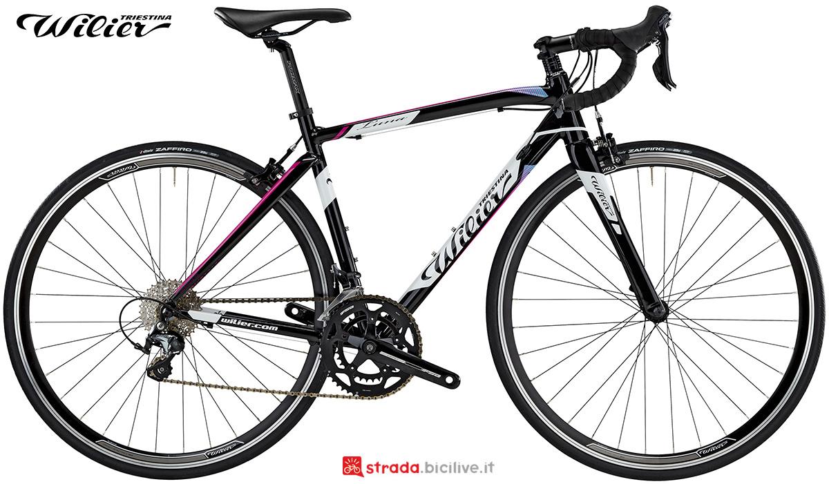 La nuova bici da corsa Wilier Triestina Luna 2021