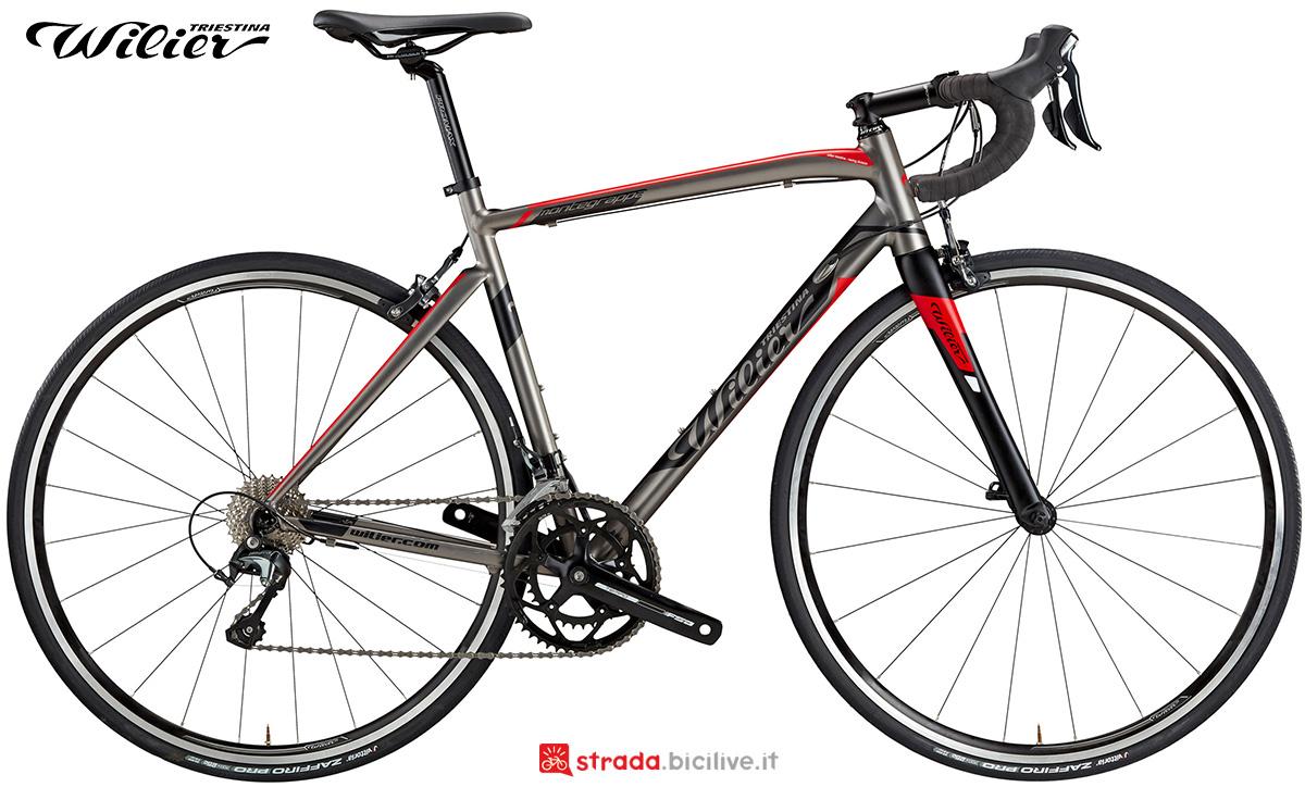 La nuova bici da strada Wilier Triestina Montegrappa 2021
