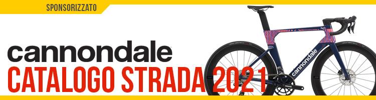 Catalogo bici da strada e gravel 2021 Cannondale