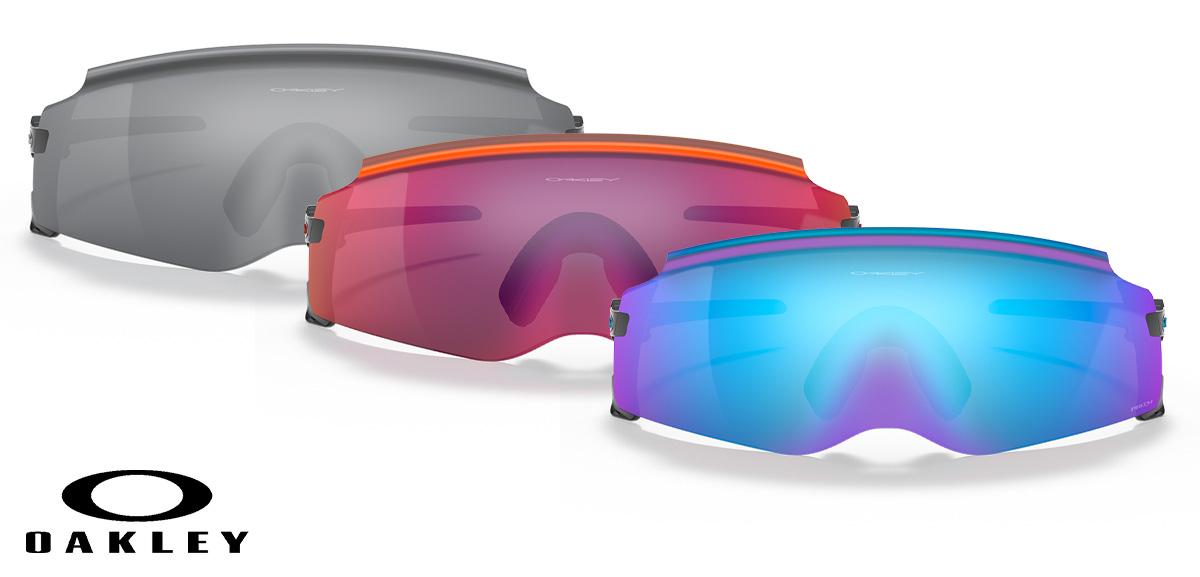 I tre colori disponibili per i nuovi occhiali da sole Oakley Kato 2021