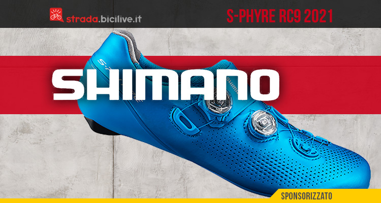 La nuova scarpa per bici da corsa Shimano S-Phyre RC9 2021