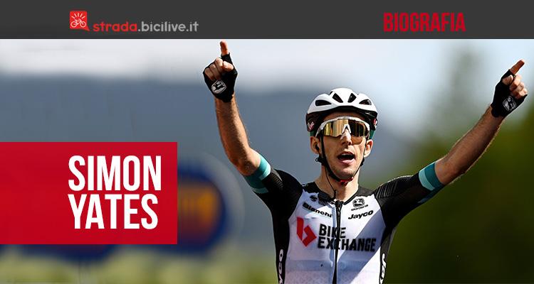 La biografia del campione di ciclismo Simon Yates