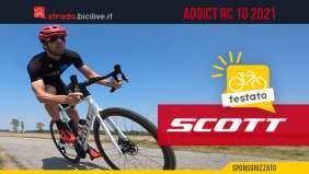 Scott Addict RC 10: test recensione della bici da strada