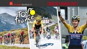 Le tappe del Tour de France 2021