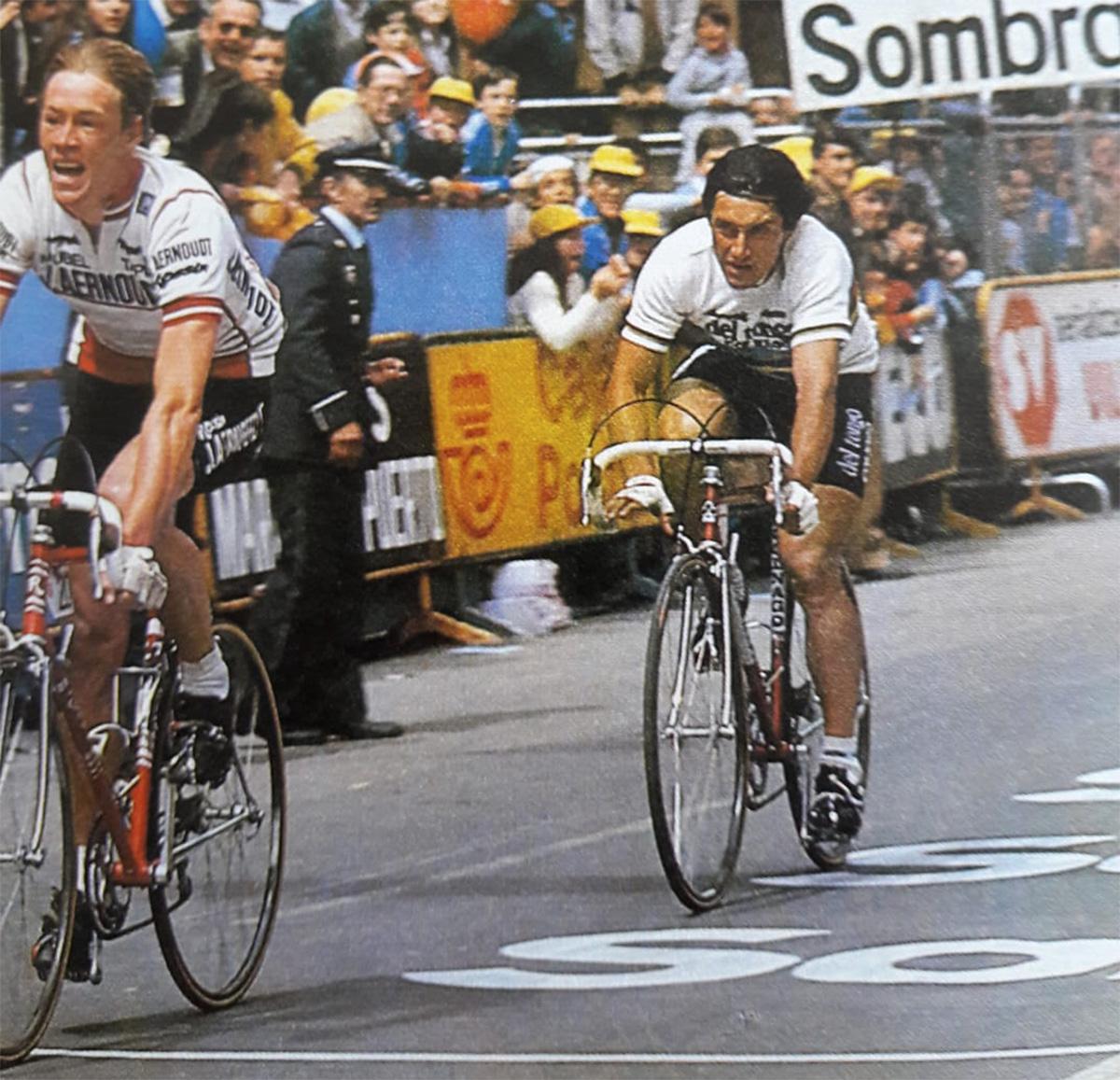 Giuseppe Saronni durante la Vuelta de España 1983