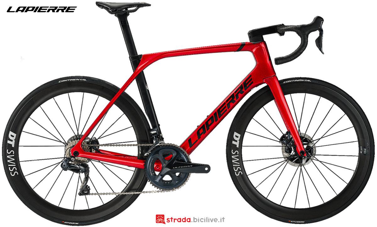 La nuova bici da corsa Lapierre Aircode DRS 8.0 2021