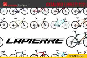 Il catalogo e i prezzi delle nuove bici da strada e gravel Lapierre 2021
