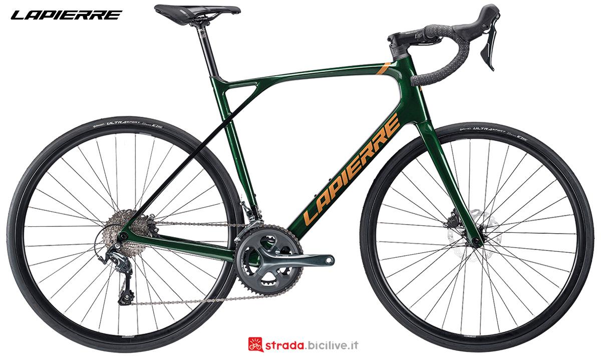 La nuova bici da corsa Lapierre Pulsium 3.0 Disc 2021