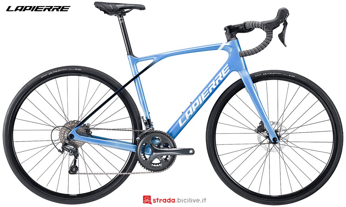 La nuova bici da corsa Lapierre Pulsium 3.0 Disc donna 2021