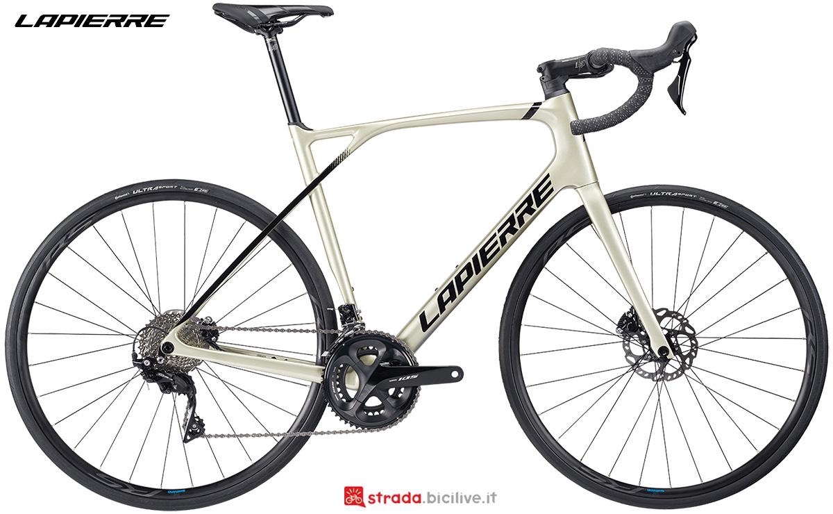 La nuova bici da strada Lapierre Pulsium 5.0 Disc 2021