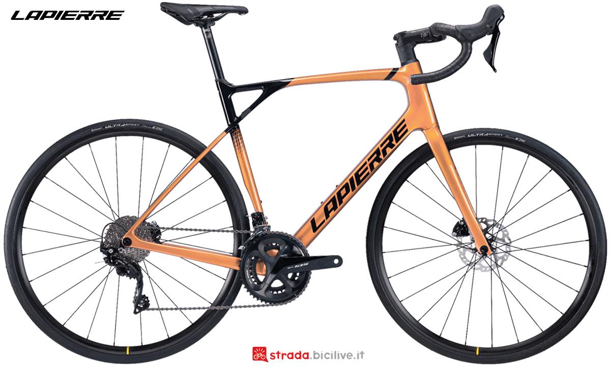 La nuova bici da corsa Lapierre Pulsium SAT 5.0 Disc 2021