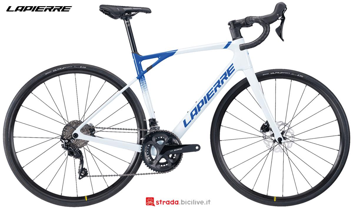 La nuova bici da corsa Lapierre Pulsium SAT 5.0 Disc donna 2021