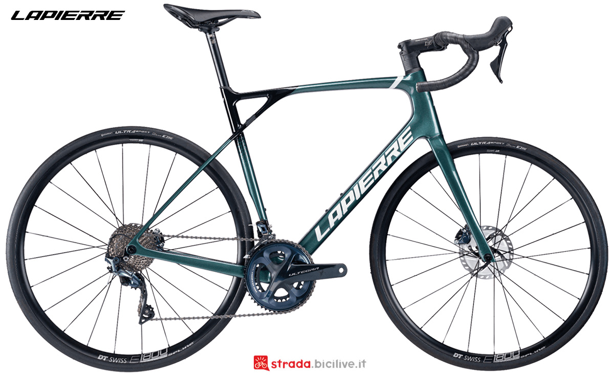 La nuova bici da strada Lapierre Pulsium SAT 6.0 Disc 2021
