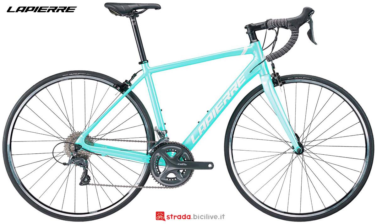 La nuova bicicletta da strada Lapierre Sensium 1.0 donna 2021