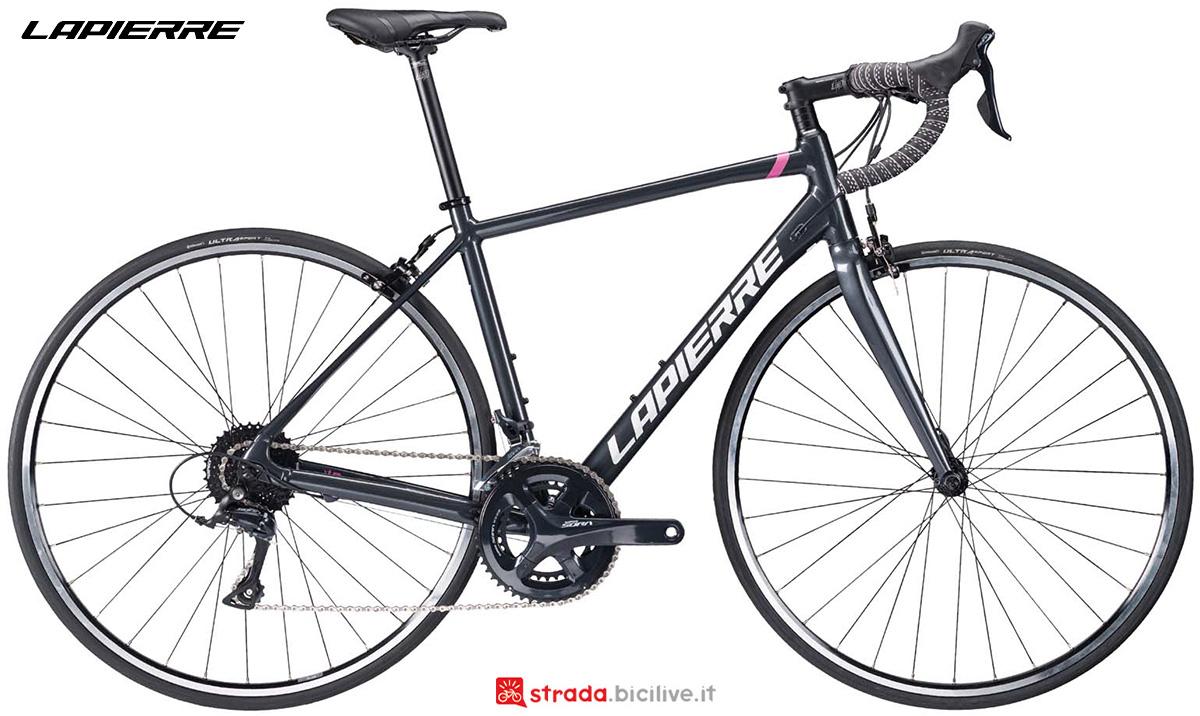 La nuova bicicletta da strada Lapierre Sensium 2.0 donna 2021