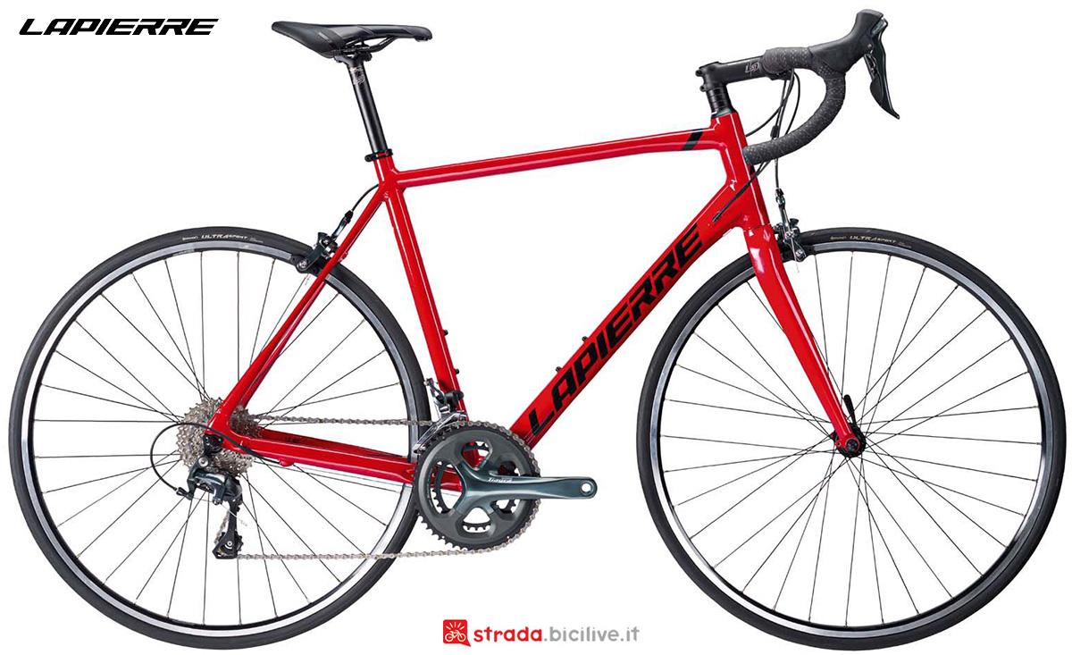 La nuova bici da strada Lapierre Sensium 3.0 2021