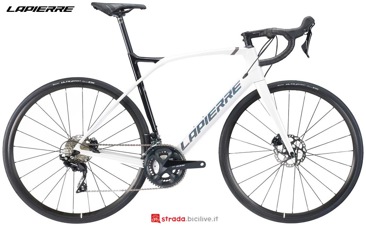 La nuova bici da corsa Lapierre Xelius SL 5.0 Disc 2021
